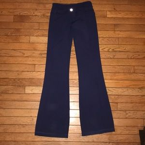 lululemon athletica Pants - Lululemon athletica reversible flared yoga pants